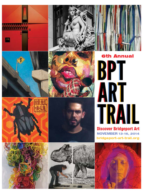 Bridgeport Art Trail Program Cover