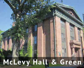McLevy Hall & McLevy Green