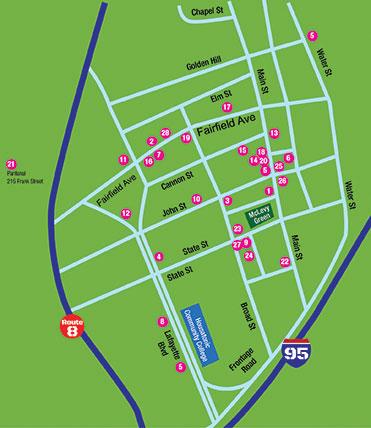 Art Trail Restaurant Map 2016