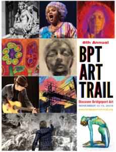 2016 Bridgeport Art Trail Program Cover