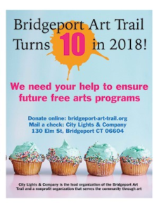 Bridgeport Art Trail Turns 10 in 2018