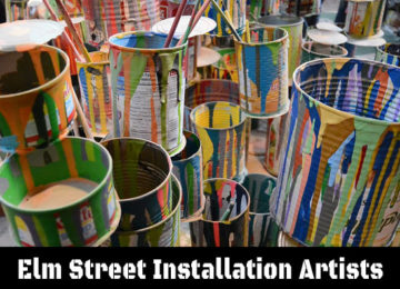Elm St Installation Artists