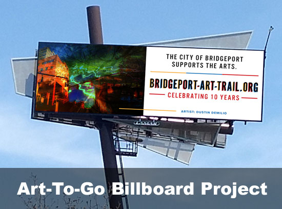 Art-to-Go billboard Project