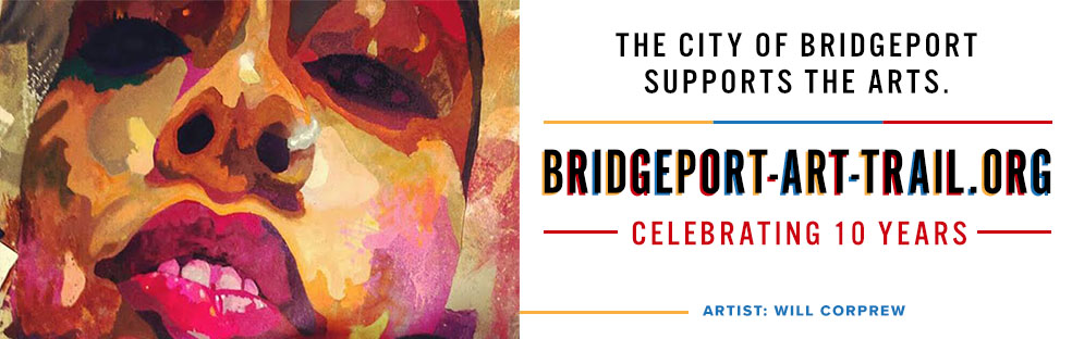 ART TO GO On I 95 Digital Billboard Is A Collaboration With The City Of Bridgeport To Celebrate 10th Anniversary Art Trail By Monthly